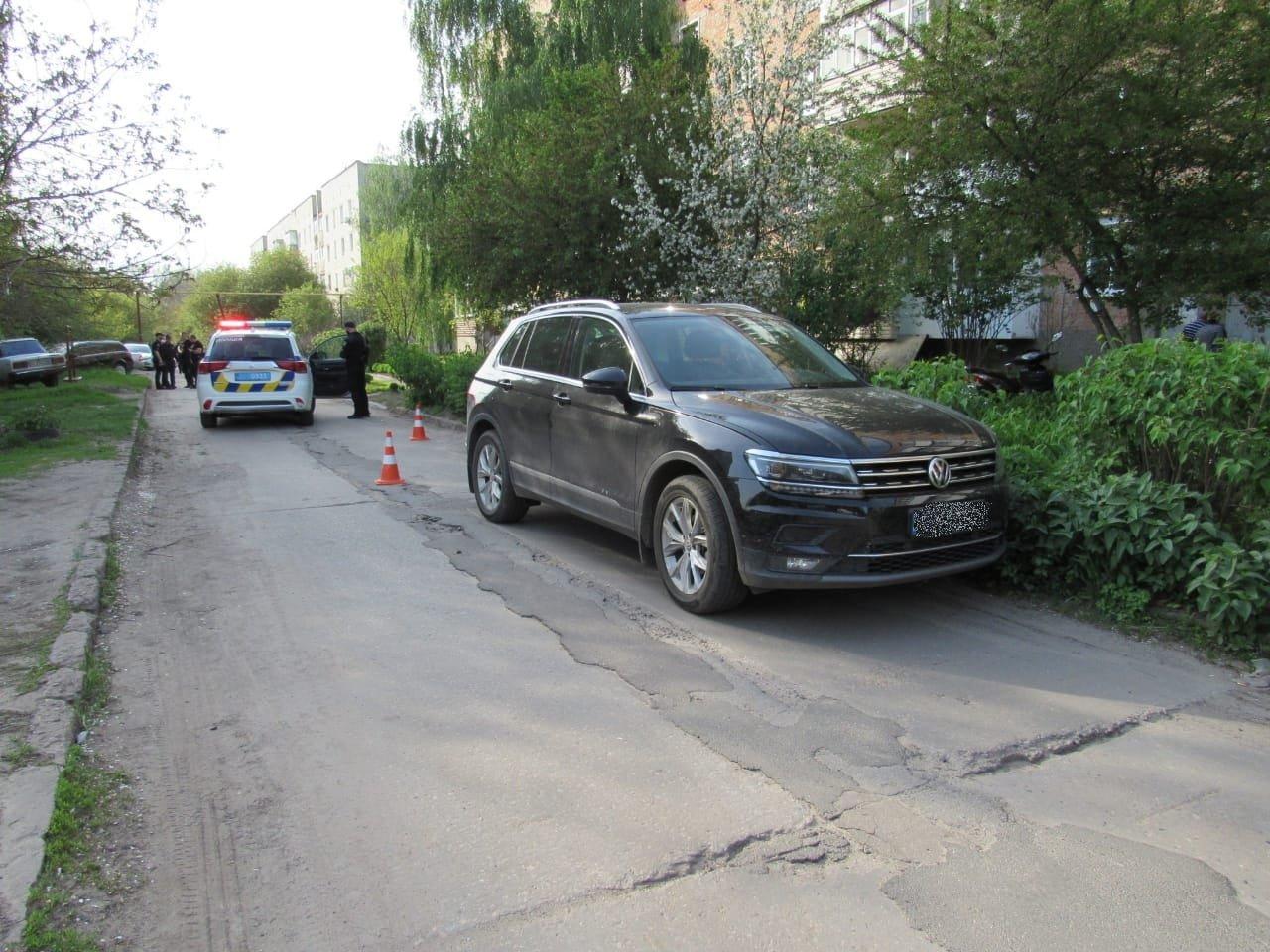 На Сумщині 5-річний хлопчик потрапив під колеса авто