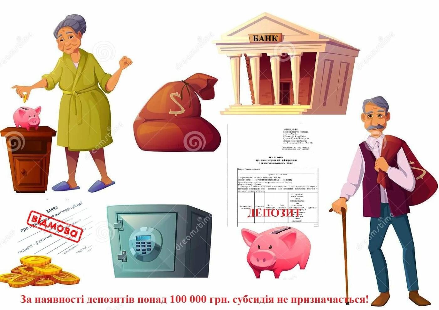 Інформація для сумчан: чи впливає наявність депозитів на призначення субсидії?, фото-1