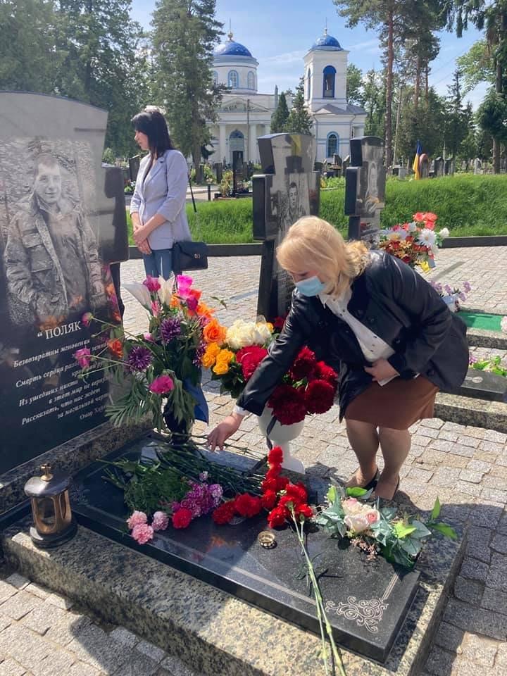 У Сумах вшанували загиблого АТОвця Фоменка Дмитра, фото-1