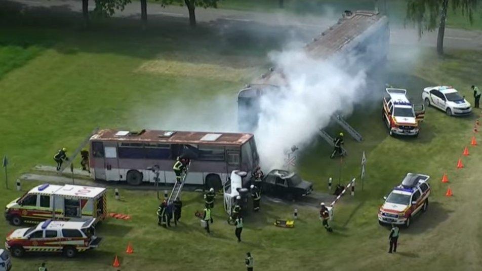 Пожежі, вибухи та травмовані: на Сумщині проводять масштабні навчання ДСНС, фото-2
