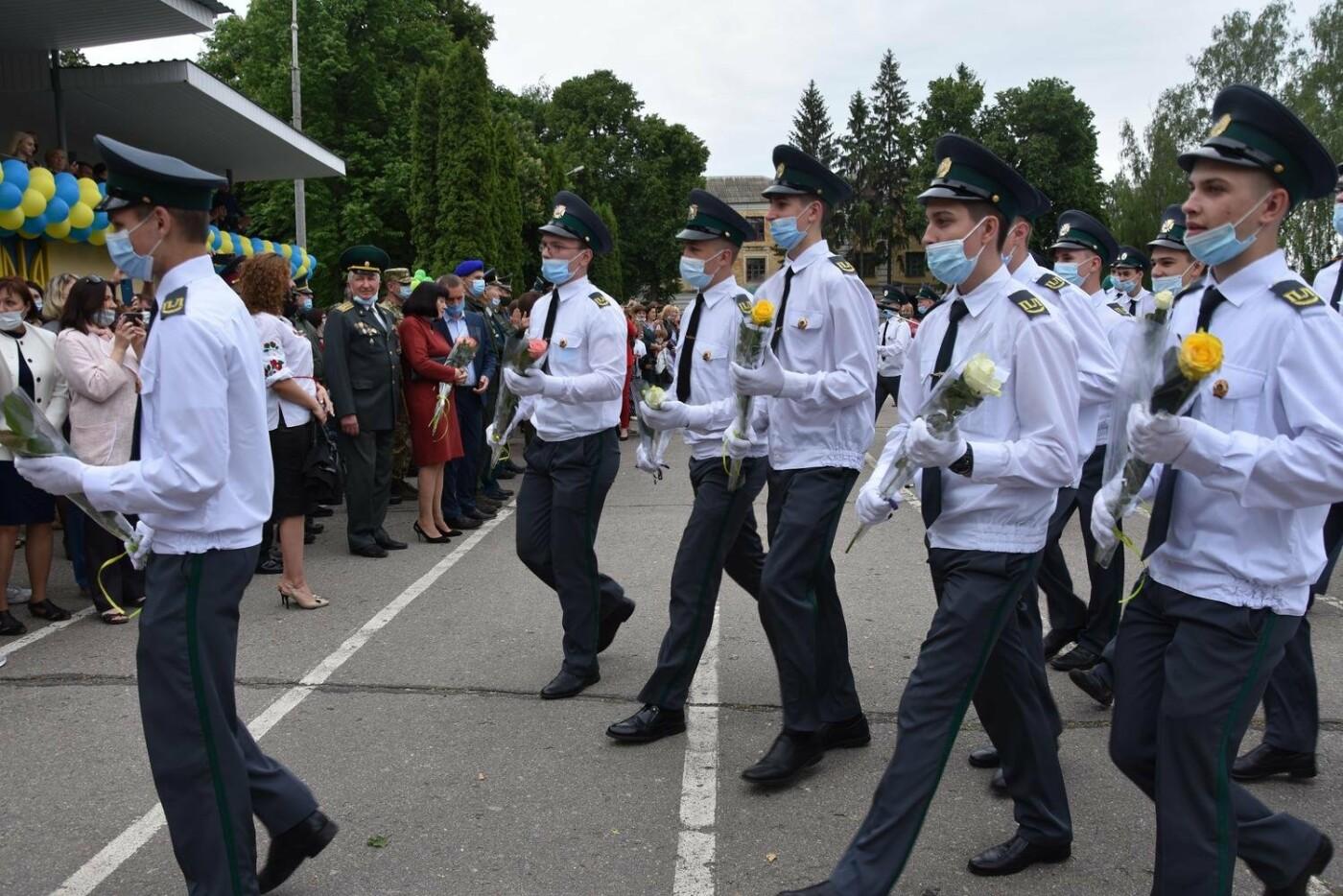 У Сумах понад 100 ліцеїстів прикордонного Кадетського корпусу стали випускниками, фото-3