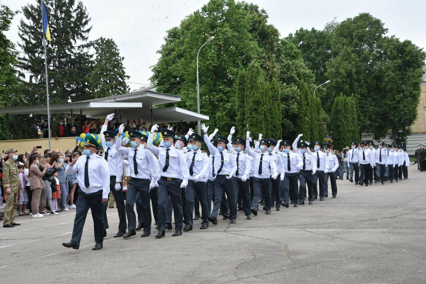 У Сумах понад 100 ліцеїстів прикордонного Кадетського корпусу стали випускниками, фото-4