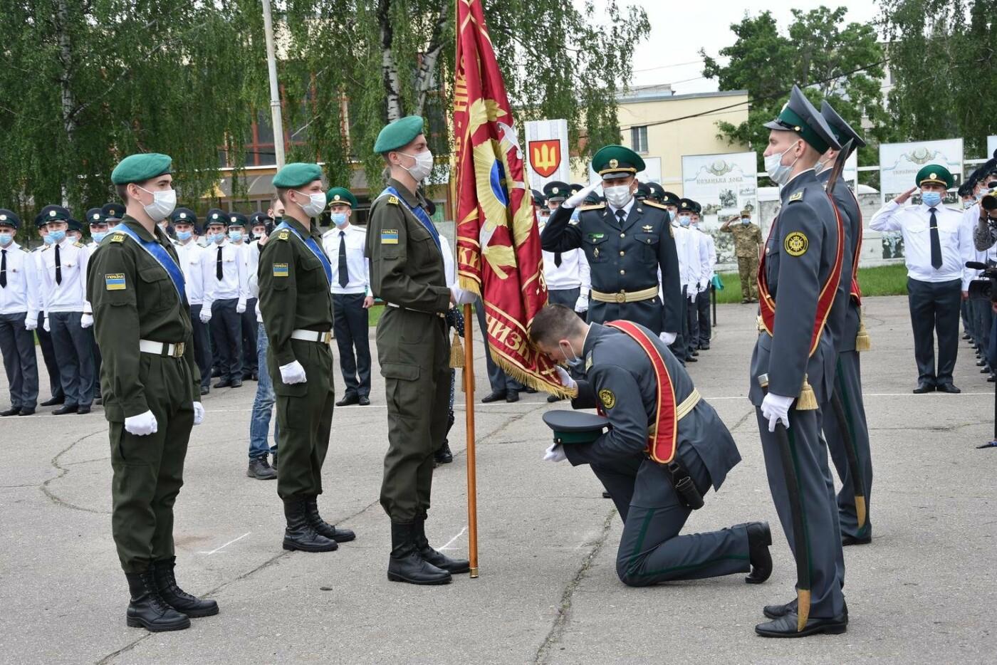 У Сумах понад 100 ліцеїстів прикордонного Кадетського корпусу стали випускниками, фото-1