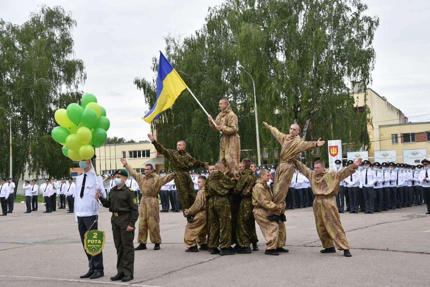 У Сумах понад 100 ліцеїстів прикордонного Кадетського корпусу стали випускниками, фото-9