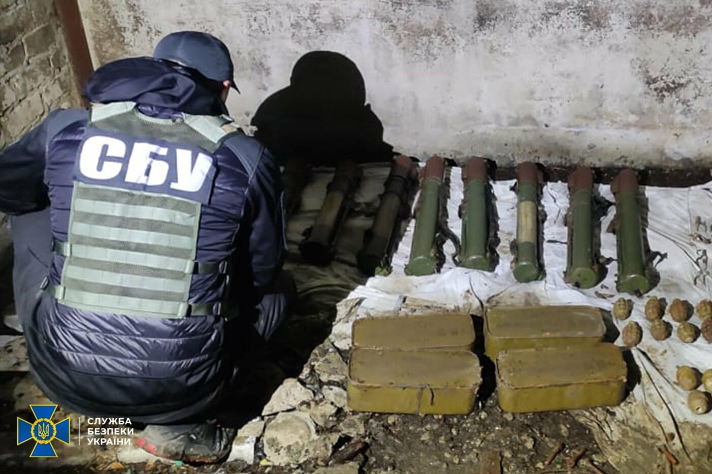 СБУ Сумщини ліквідувала на Донеччині схрон зі зброєю, залишений бойовиками угруповання терориста Гіркіна , фото-2