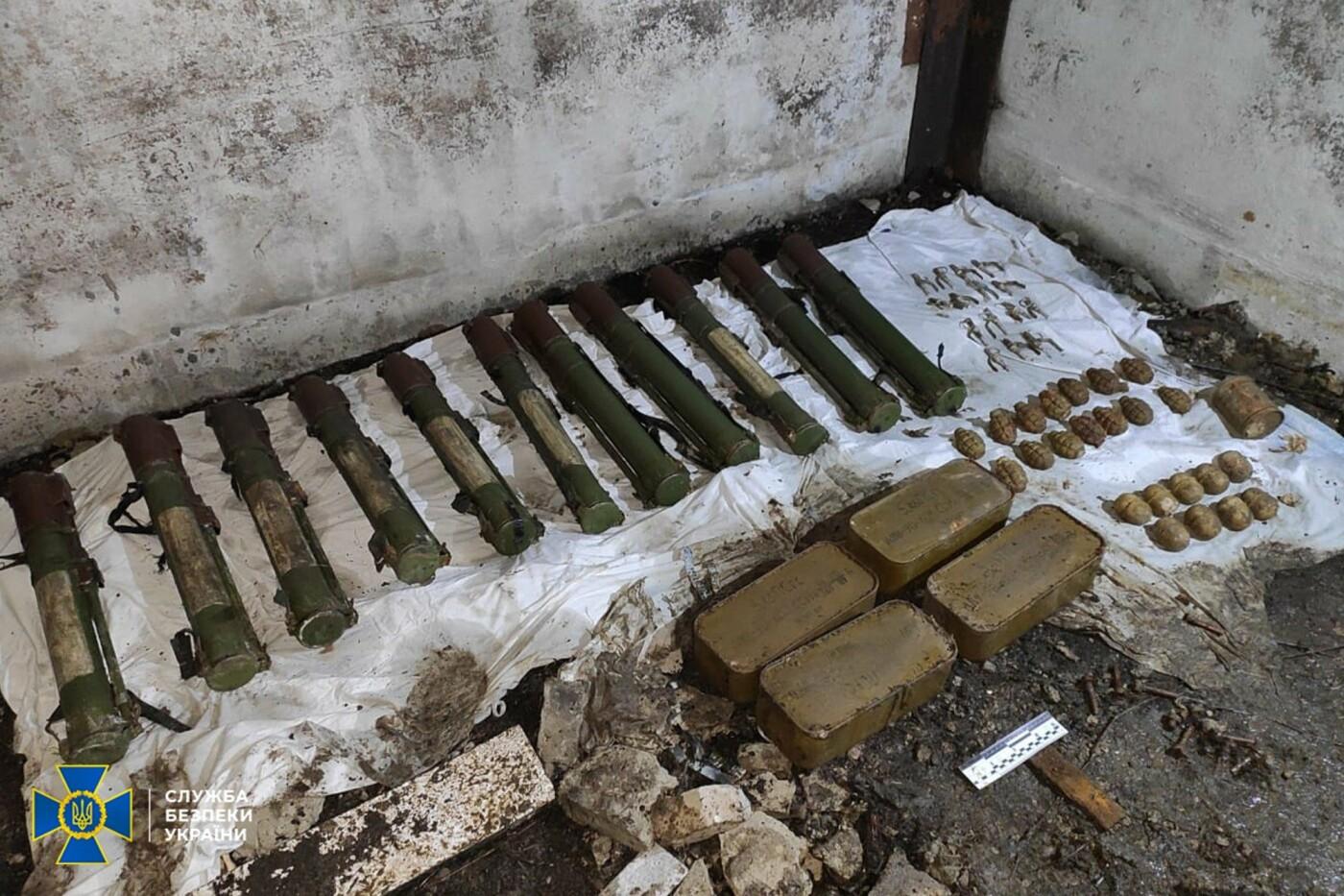 СБУ Сумщини ліквідувала на Донеччині схрон зі зброєю, залишений бойовиками угруповання терориста Гіркіна , фото-1