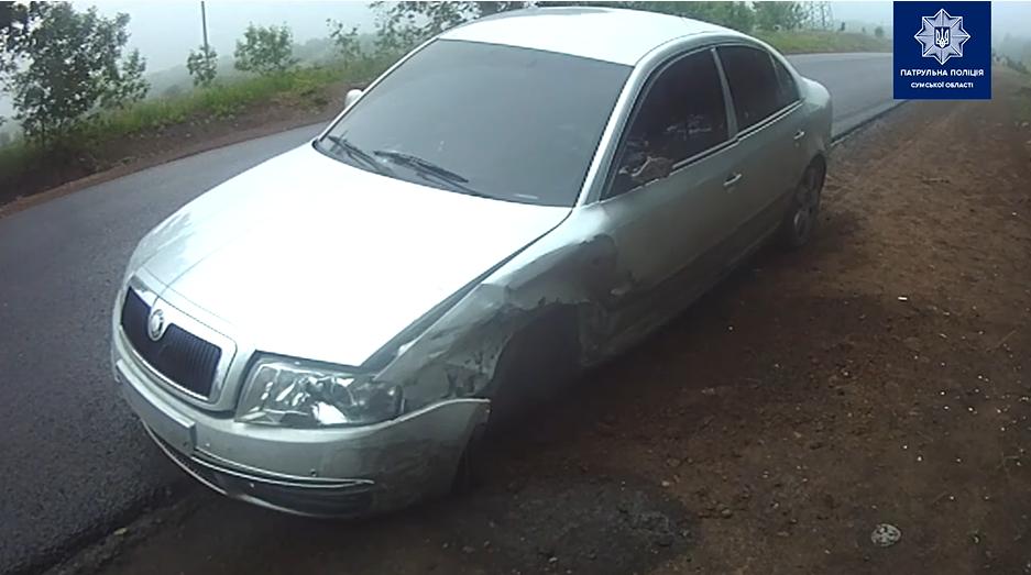 На автодорозі Суми-Полтава після лобового зіткнення перекинулась автівка, фото-4