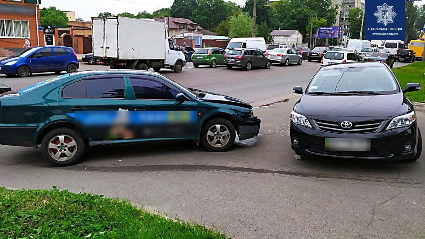 У Сумах сталося дві ДТП з постраждалими, фото-1