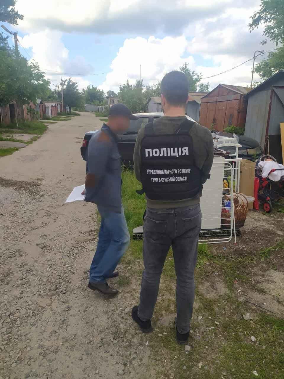 На Сумщині затримали групу автоугонщиків, фото-1
