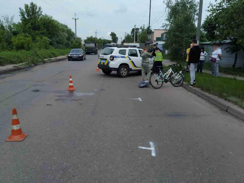 У Сумах автобус збив неповнолітню велосипедистку, фото-1