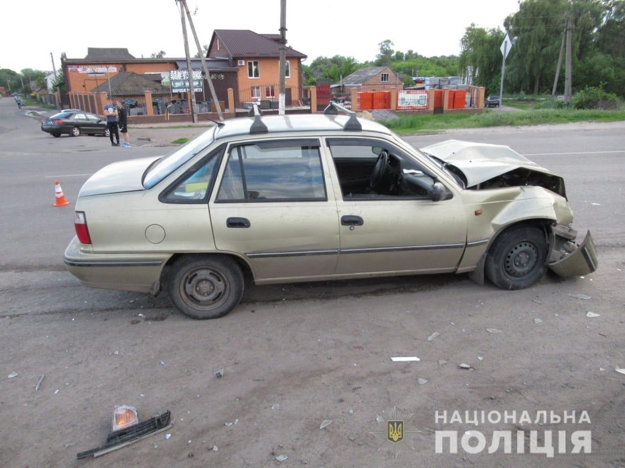 На Сумщині водій після ДТП потрапив до лікарні, фото-1